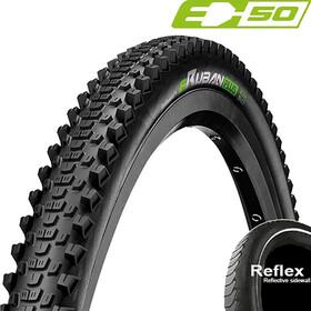 "Continental eRuban Plus Clincher Tyre 29x2.10"" E-50 Reflex, negro"